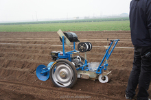 precise vegetable seeder with drip tape layer