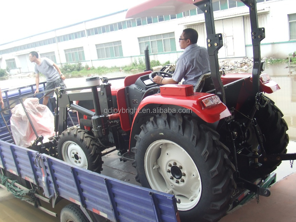 High Quality Chinese Farm Tractor 60hp tractor 4wd with cabin