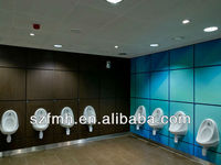 easy to clean toilet hpl formica wall panel