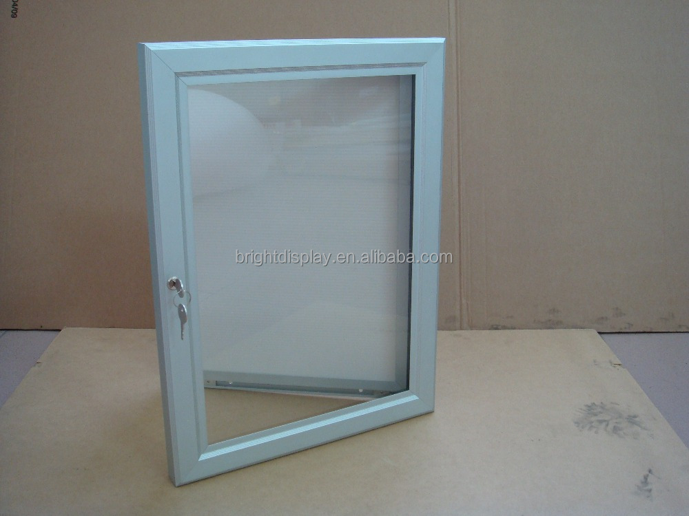 Outdoor lockable aluminum <strong>poster</strong> <strong>frame</strong> for advertising