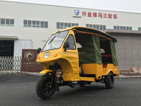 Chinese bajaj style 200cc moto taxi three wheel motorcycle for india