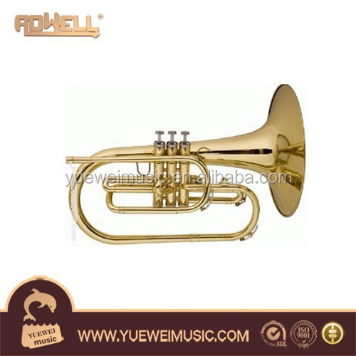 Marching Mellophone brass musical instrument