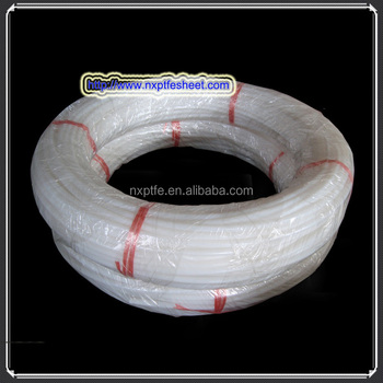 extruded ptfe pipe use to transport corrosive liquids or gases