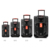 2017 portable audio rechargeable trolley big power speaker system with battery and wheels