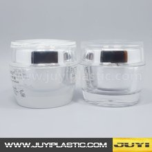 New design High quality 30ml ball shape acrylic cream jar