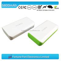 New arrival high power bank portable power bank 5600mah