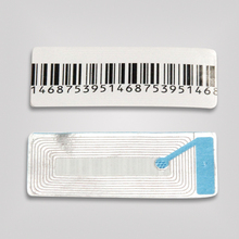 Highlight security China's supplier manufacture top quality factory price digital alarming RF anti-theft barcode label sticker