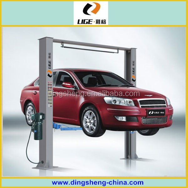 CE Certification and Two Post Design 2 post car lift 2 post vehicle lift
