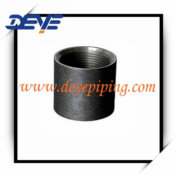 Black Steel NPT BSP Coupling Socket
