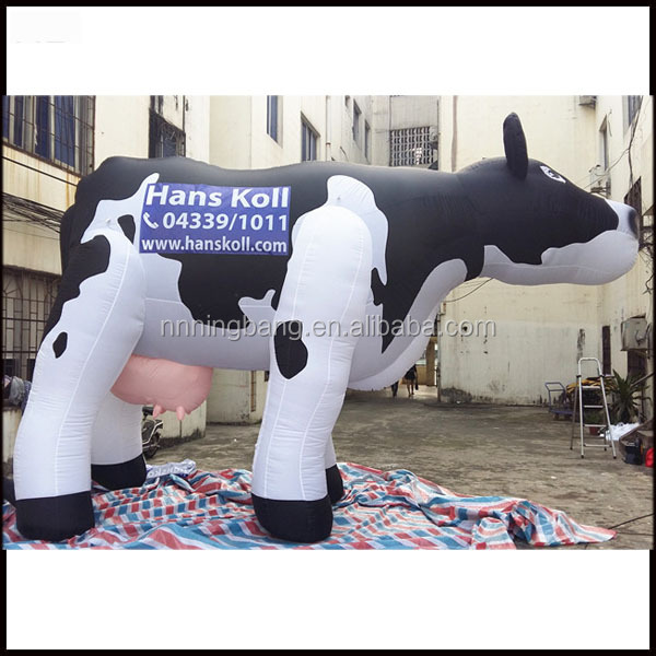Ningbang 2016 hot sale inflatable cow costume for advertising