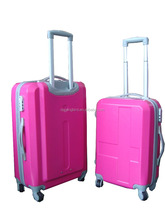 pu colourful assoda trolley&luggage bag