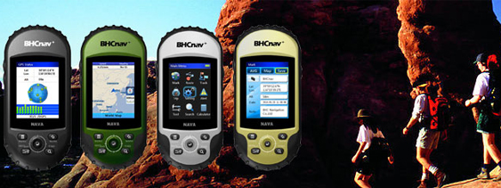 NAVA200 handheld gps navigation with worldwide map