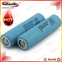 Blue Samsung inr18650-25r 18650 25R 2500mah 3.7v high drain 30A discharge rate battery