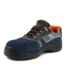 NMSHIELD SB suede leather lady work safety shoes