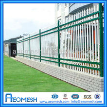China Manufacture Decorative Wrought Iron Picket Fence/Metal Fence for Home,Garden,Villa