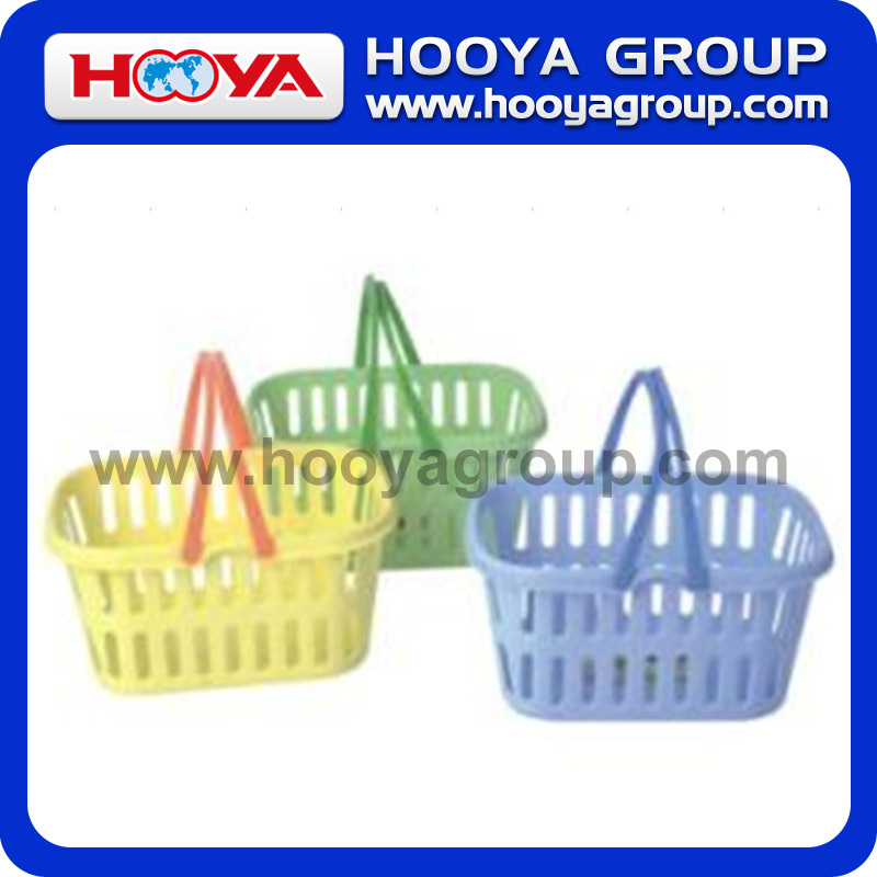 Small Rectangular Storage Basket With Handle