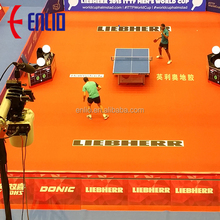 ENLIO pvc sports flooring especially for basket ball table tennis REXCOURT