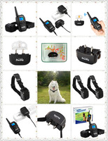 Newest iT498 300 Yard Rechargeable Waterproof LCD Shock Vibra Remote Pet Dog Training Collar