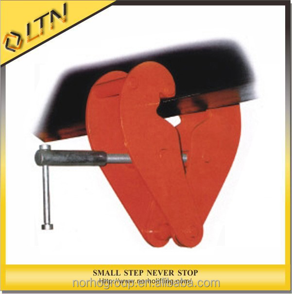 Chain Block Clamp BC-WA Type 1T to 10T/lifting beam clamp/Steel