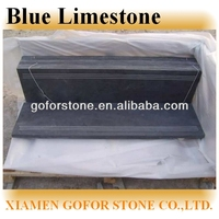 Blue limestone pavers from China