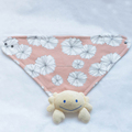 100% organic cotton interlock fabric baby Kerchief Bibs