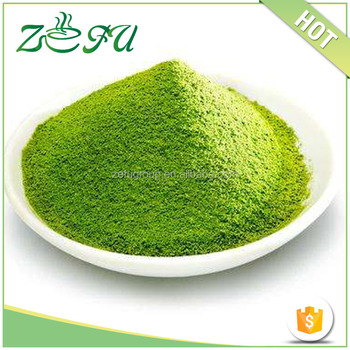 China organic green tea extract matcha green tea powder