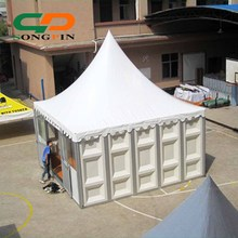 Quality solid wall pagoda tents for party hire business