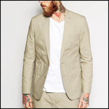 Spring Fall Jacket Custom Latest Pattern Casual Blazer For Men