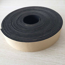 heat resistant NBR PVC rubber foam adhesive insulation tape