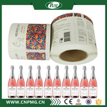 Sticker And Label Printing Mineral Water Bottle Self Adhesive Fabric Sticker Label