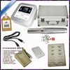 New Permanent Makeup Tattoo Eyebrow Pen Machine Set Make up Kits Silver