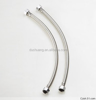 304/316 Stainless Steel Flexible Metal Gas Hose with Brass Fitting