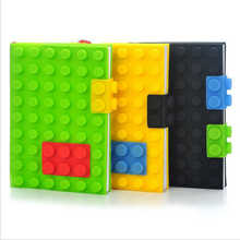 UCHOME Factory Cheap Price Note Book Silicone Material Legos Journal Notebook