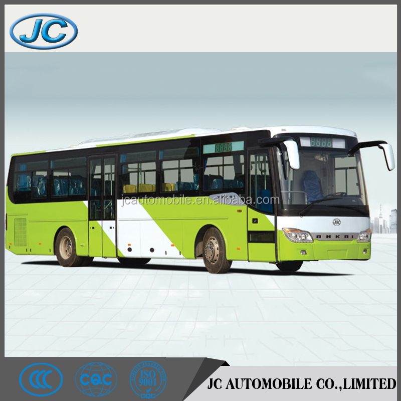 Hot selling 24 to 45 seats 90 passengers capacity luxury city bus for sale