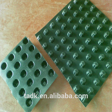 12mm composite drainage board 1100g plastic drain 10mm cell