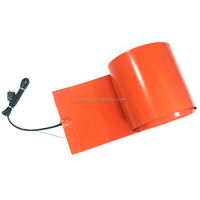 good heating plastic drums heater barrel cargo rubber drum rubber drum