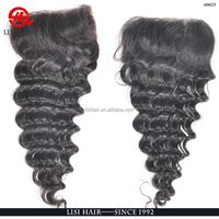 Fast Delivery Mongolian Closure Hair Cheap Remy Grey human Hair Weaving