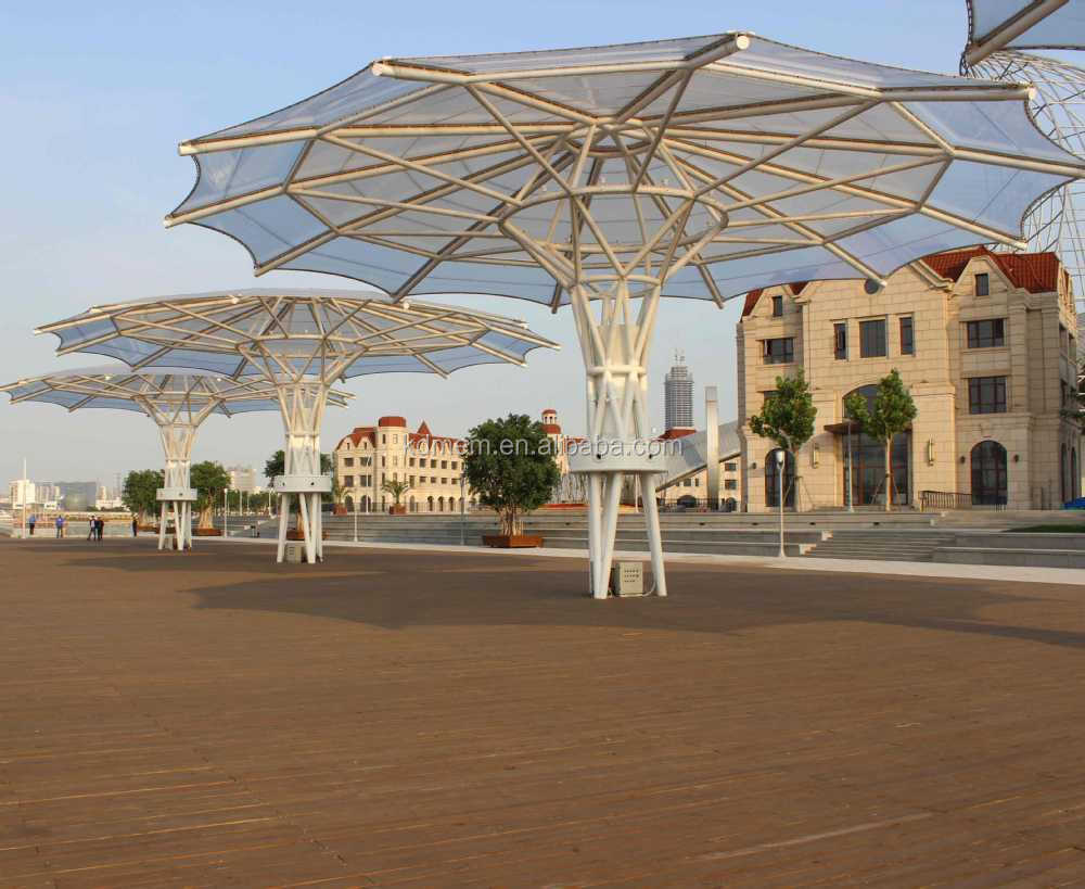 ETFE Tensile Membrane Structure Roofing for Mall Shopping Street
