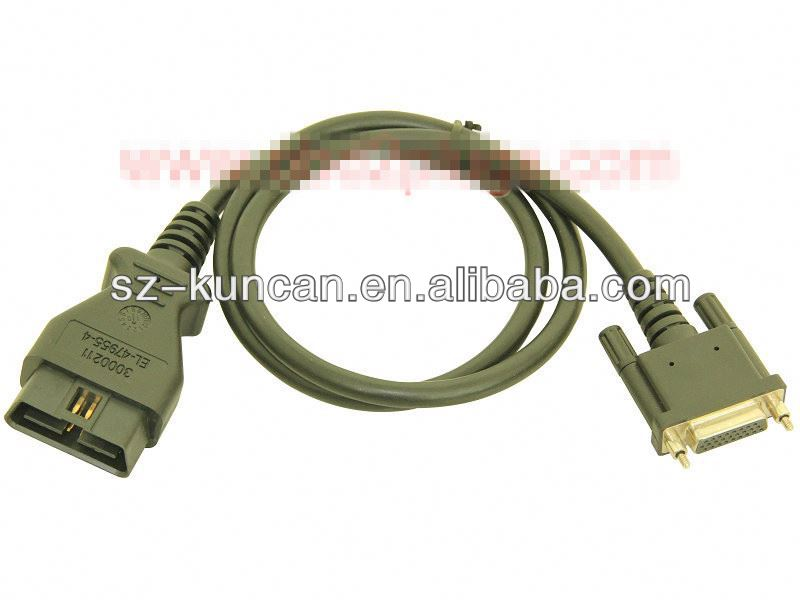 OBD2 to USB/DC/RJ45 plug obd cable for dignositc szkuncan