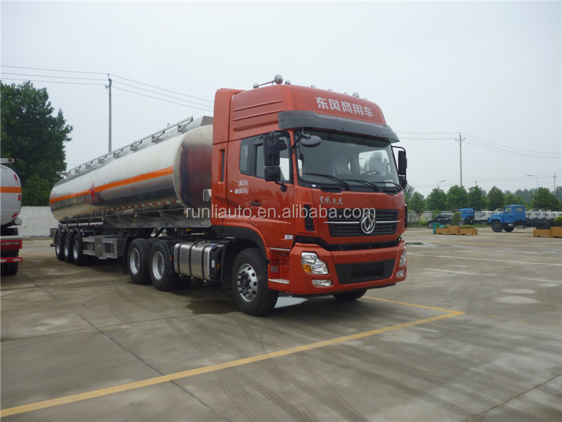 Promotion 50000 liters oil/petrol/fuel tank semi trailer,tanker stainless steel trailers for sale