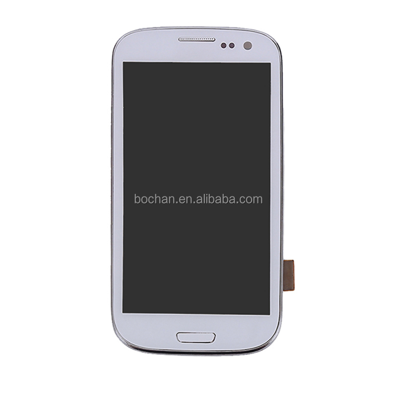 Wholesale spare parts for samsung s3 gt-i9300 screen,for galaxy s3 gt i9300 digitizer+lcd display