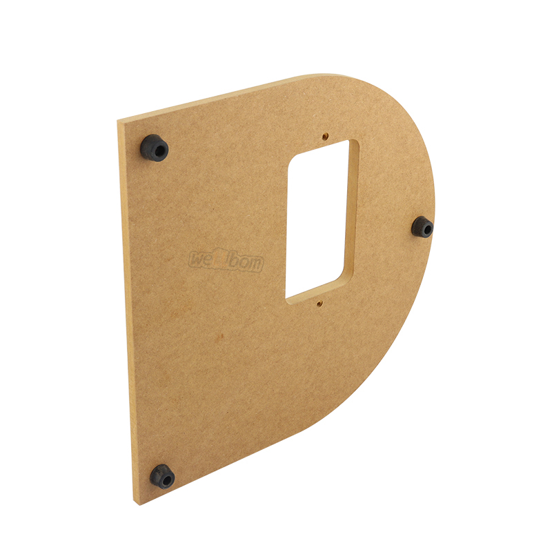 Wooden Mounting Board for Stainless 2-roller Homebrew Barley Grinder Crusher Malt Grain Mill with Screws Top quality