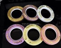 Wholesale New Design Plastic Curtain Ring Plastic Curtain Eyelets