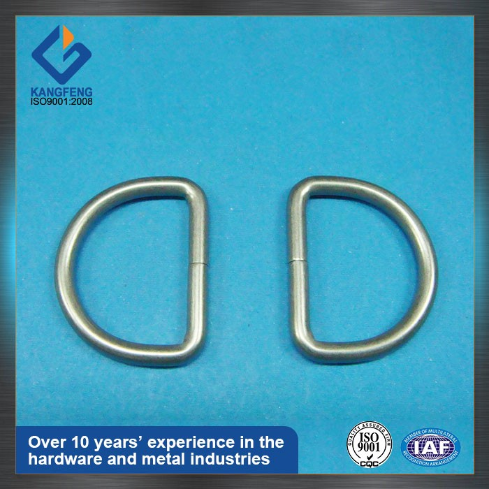 custom Investment Casting stainless steel bag buckle d ring