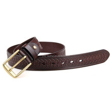 B015Q Fashion Famous Brand Original Genuine Leather Belt for Men
