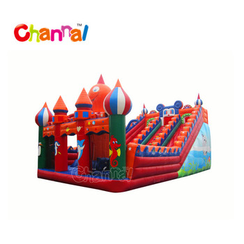 Children slides inflatable dry slide Inflatable Slide for sale