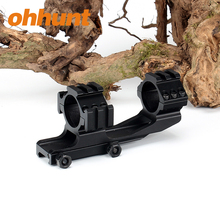 Ohhunt 30mm Double Scope Rings 20mm Picatinny Weaver Rail Tactical One Piece Riflescope Mount With Triple Rails Cover