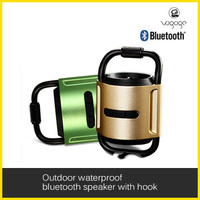 portable speaker classic style waterproof hook climber bluetooth speaker for hiking