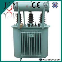 Factory export Oil immersed transformer 11 33 KVA 100%copper wound with cable box high quality low price