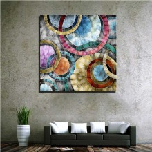 High quality wall art Abstract color image photo canvas painting for decor